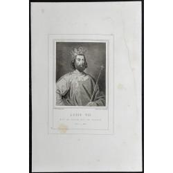 1855 - Portrait de Louis VII