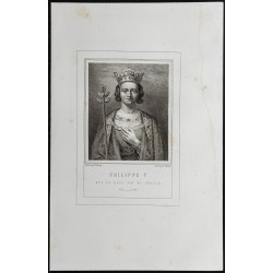 1855 - Portrait de Philippe V