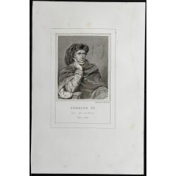 1855 - Portrait de Charles VI