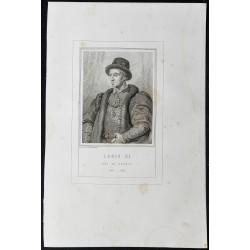 1855 - Portrait de Louis XI