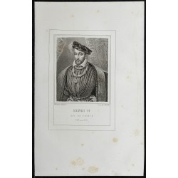 1855 - Portrait de Henri II