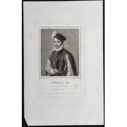 1855 - Portrait de Charles IX