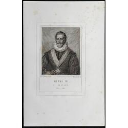 1855 - Portrait de Henri IV