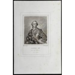 1855 - Portrait de Louis XV