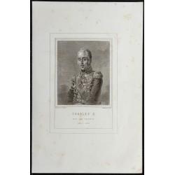 1855 - Portrait de Charles X
