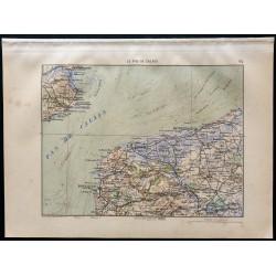 1880 - Carte du Génie du...