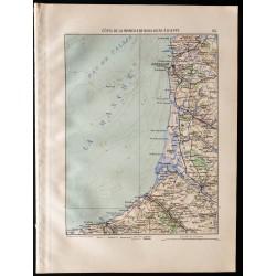 1880 - Carte de la cote de...