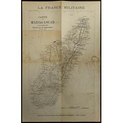 1893 - Carte de Madagascar