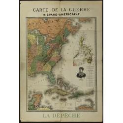 1898 - Carte de la guerre...
