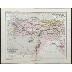 1857 - Carte de l'Asie mineure
