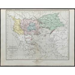 1857 - Carte de la Macédoine