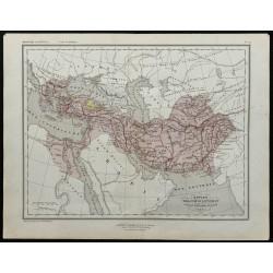 1857 - Carte de l'Empire...