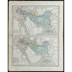 1857 - Carte du partage de...