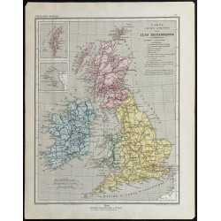 1857 - Carte des îles...