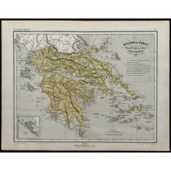 1857 - Carte du Royaume de...