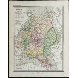 1857 - Carte de Russie et...