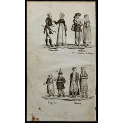 1826 - Costume d'Europe