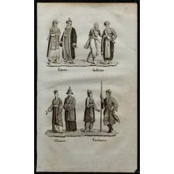 1826 - Costumes d'Asie