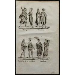 1826 - Indiens d'Amérique,...