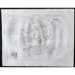 1833 - Département de l'Indre