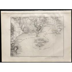 1880 - Golfe de la Napoule...