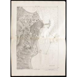 1880 - Carte du port d'Alger
