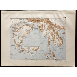 1880 - Carte des colonies...