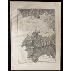 1880 - Carte de la baie de...