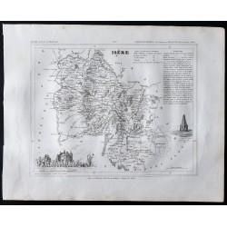1833 - Département de l'Isère