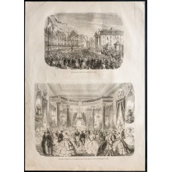 1860 - Dijon - Place de la...