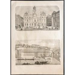 1860 - Lyon - Place des...