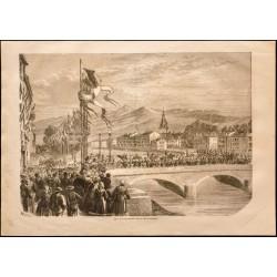 1860 - Grenoble - Entrée de...
