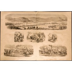 1860 - Algérie - Attaque...
