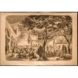 1860 - Algérie - Danse...