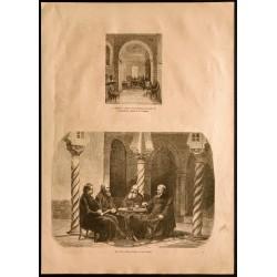 1860 - Algérie - Chambre à...