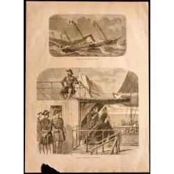 1860 - Marine - L'Aigle et...
