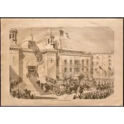 1860 - Algérie - Cathédrale...