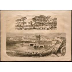 1860 - Marseille - Bains...