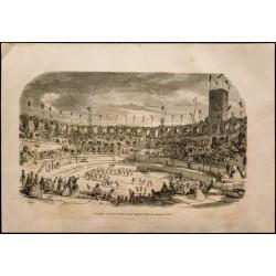 1860 - Arènes d'Arles -...