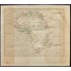 1843 - Carte de l'Afrique