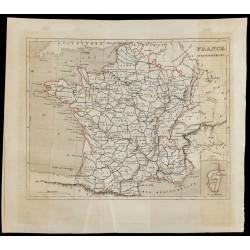 1843 - Carte de France