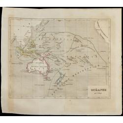 1843 - Carte de l'Océanie