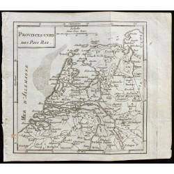 1803 - Carte des Pays-Bas