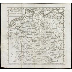 1803 - Carte de l'Allemagne