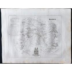1833 - Département de la Marne