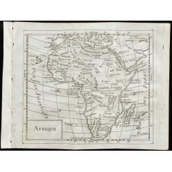 1803 - Carte de l'Afrique
