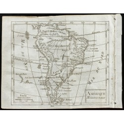 1803 - Carte de l'Amérique...