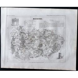 1833 - Département Meurthe