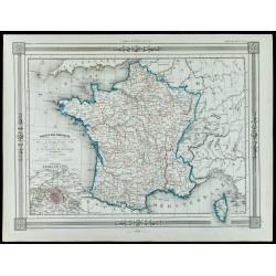 1846 - France par provinces...