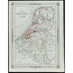1846 - Carte des royaumes...